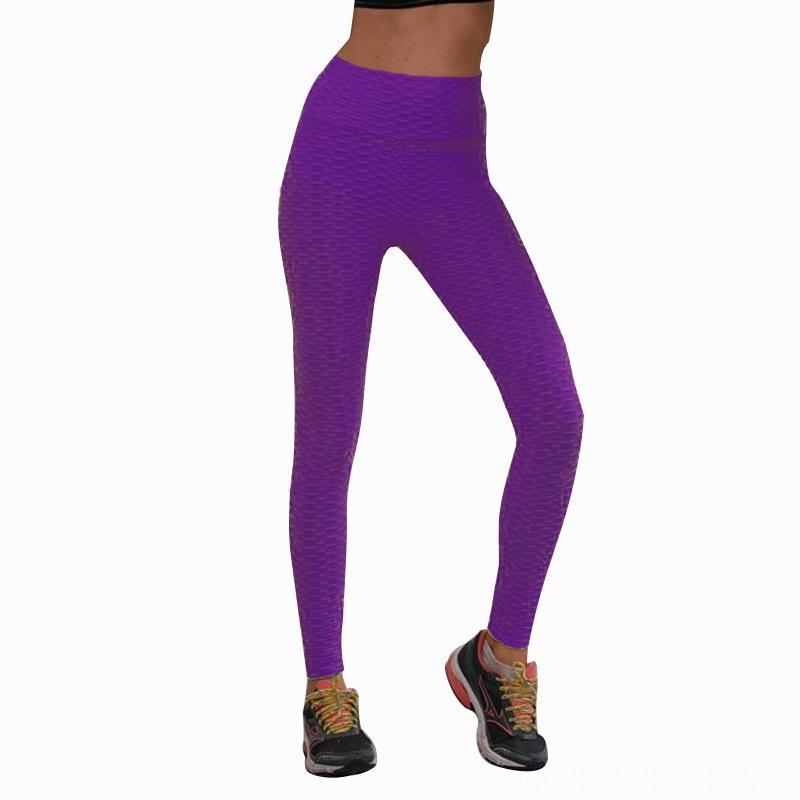 t56Bp femmes sport cravate jacquard encre eau pantalon de yoga d'exercice de colorant gymnase auto-culture leggings de remise en forme de bulle de levage de la hanche et des pantalons