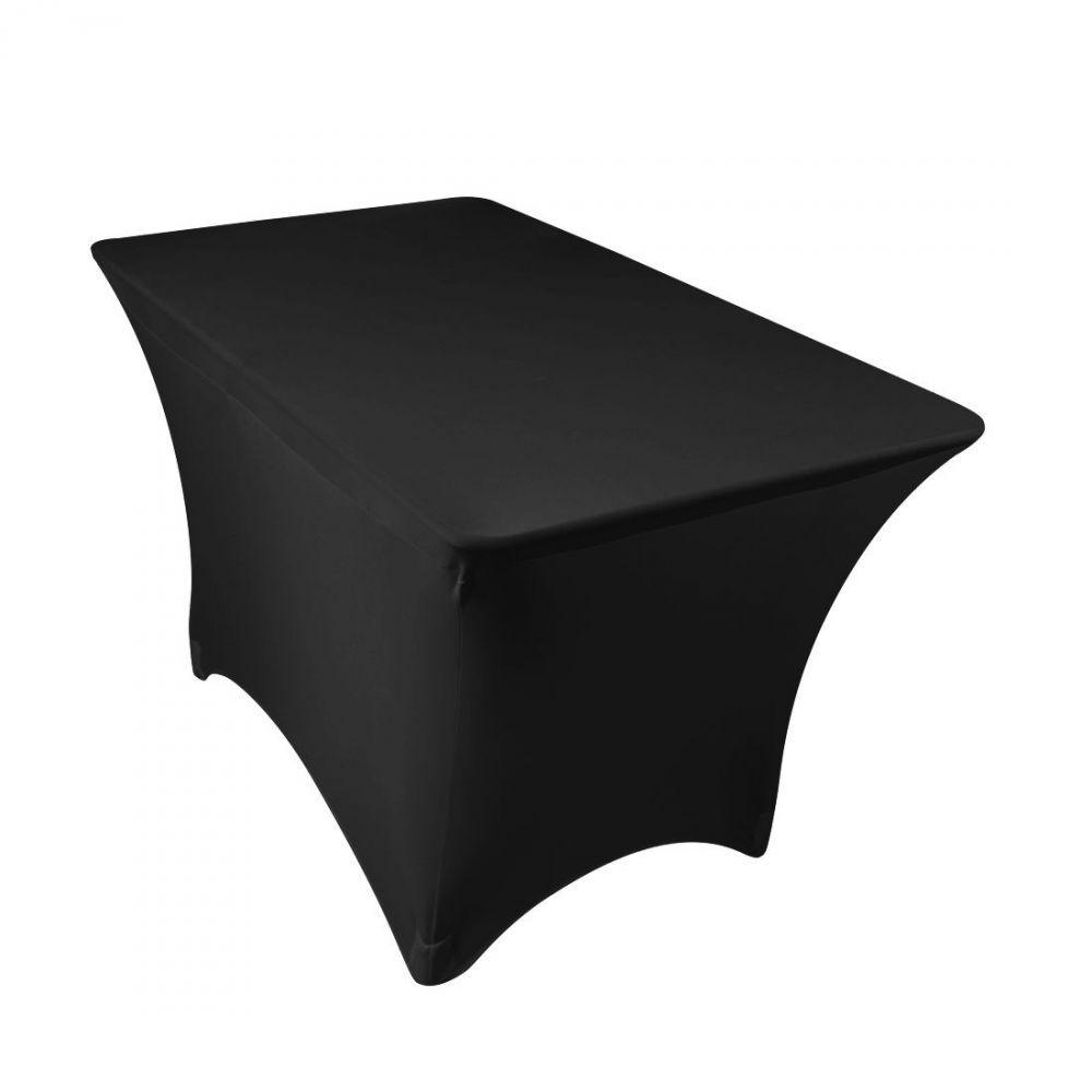 Rectangular Stretch Table Cloth Spandex Lycra Table Cover Table Stretch Bar Mantel ajustado para banquete de boda Decoración de banquetes
