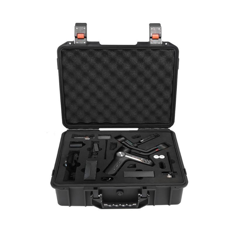 Hard Case Nero portatile sacchetto di trasporto antipolvere protettivo Viaggi bagagli antiurto per Zhiyun Weebill-S palmare giunto cardanico #D