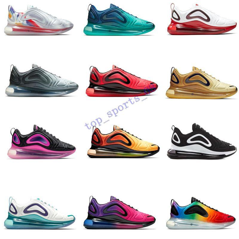 Top Quality 72O Sapatos Total Eclipse Sunset Northern Lights Da Mens Mens Moon Loon Lowback Futuro Tempo Quente Sneaker