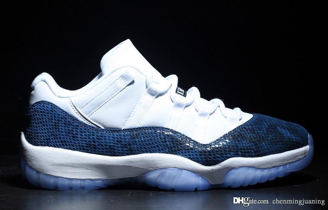 2020 2019 Release 11 Low Blue Snakeskin