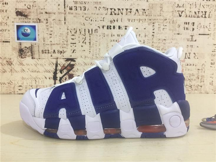 Nike Air More Uptempo 96 96 QS Olympic Varsity Maroon More Men Basketball Shoes 3m Scottie Pippen Uptempo Chicago Trainers Sports Mens Sneakers Size 41-46 PP03