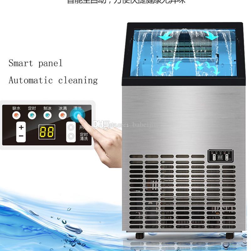 50 kg / 24h automatique Place machine à glaçons de cuisine machine à glaçons Cube Making Machine pour Hôtel Portable