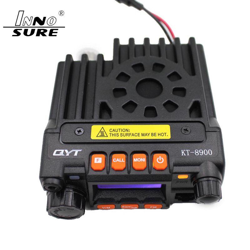 QYT KT8900 KT8900 25W 136-174MHz 400-480Mhz mini-bande double radio mobile, radio à deux voies, monté sur véhicule, talkie-walkie QYT 8900