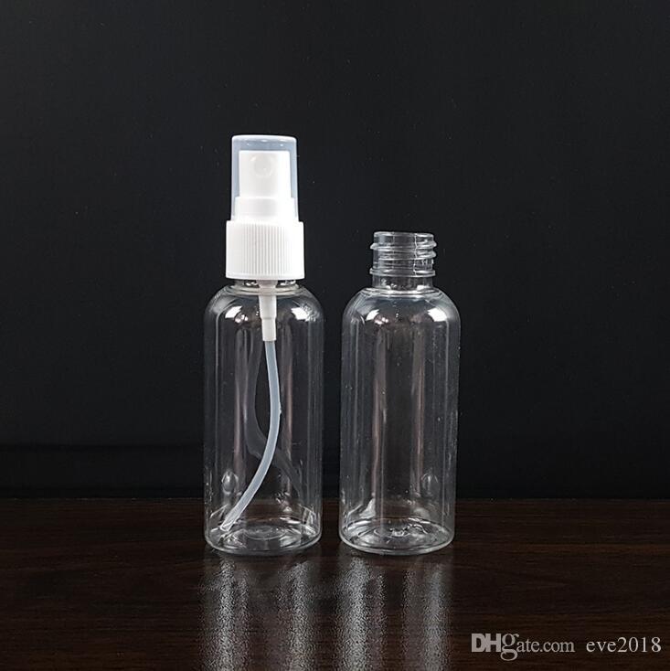 60ml 2Oz Clear Fine Mist Mini Spray Bottles with Atomizer Pumps- for Essential Oils Travel Perfume Bulk Portable Makeup Tool