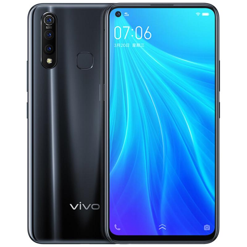 Original Vivo Z5x 4G LTE Cell Phone 6GB RAM 64GB 128GB ROM Snapdragon 710 Octa Core 6.53 inch Full Screen 16.0MP Fingerprint ID Mobile Phone