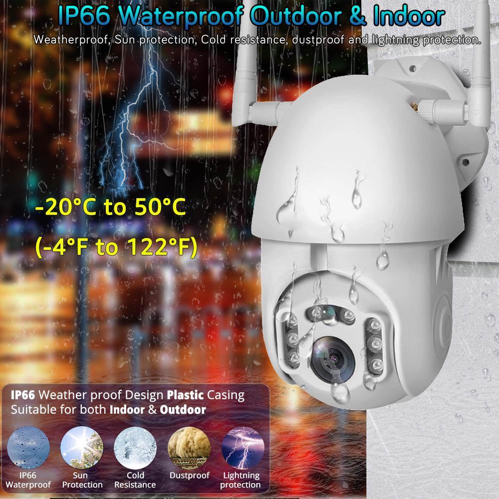 1080P PTZ IP كاميرا واي فاي في الهواء الطلق قبة السرعة لاسلكية واي فاي كاميرا الأمن الخيمة عموم تقريب رقمي 4X 2MP شبكة الدوائر التلفزيونية المغلقة