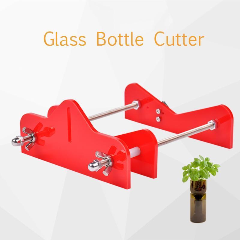 Профессиональная стеклянная бутылка Cutter Акриловые Бутылка режущий инструмент шкуркой для вина бутылки пива Mason Баночки