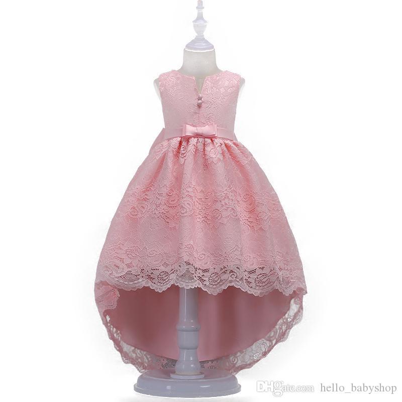 0 to 13 Yrs Girls Sleeveless Bridesmaids Princess Fairy Dress MANY COLOURS NEW