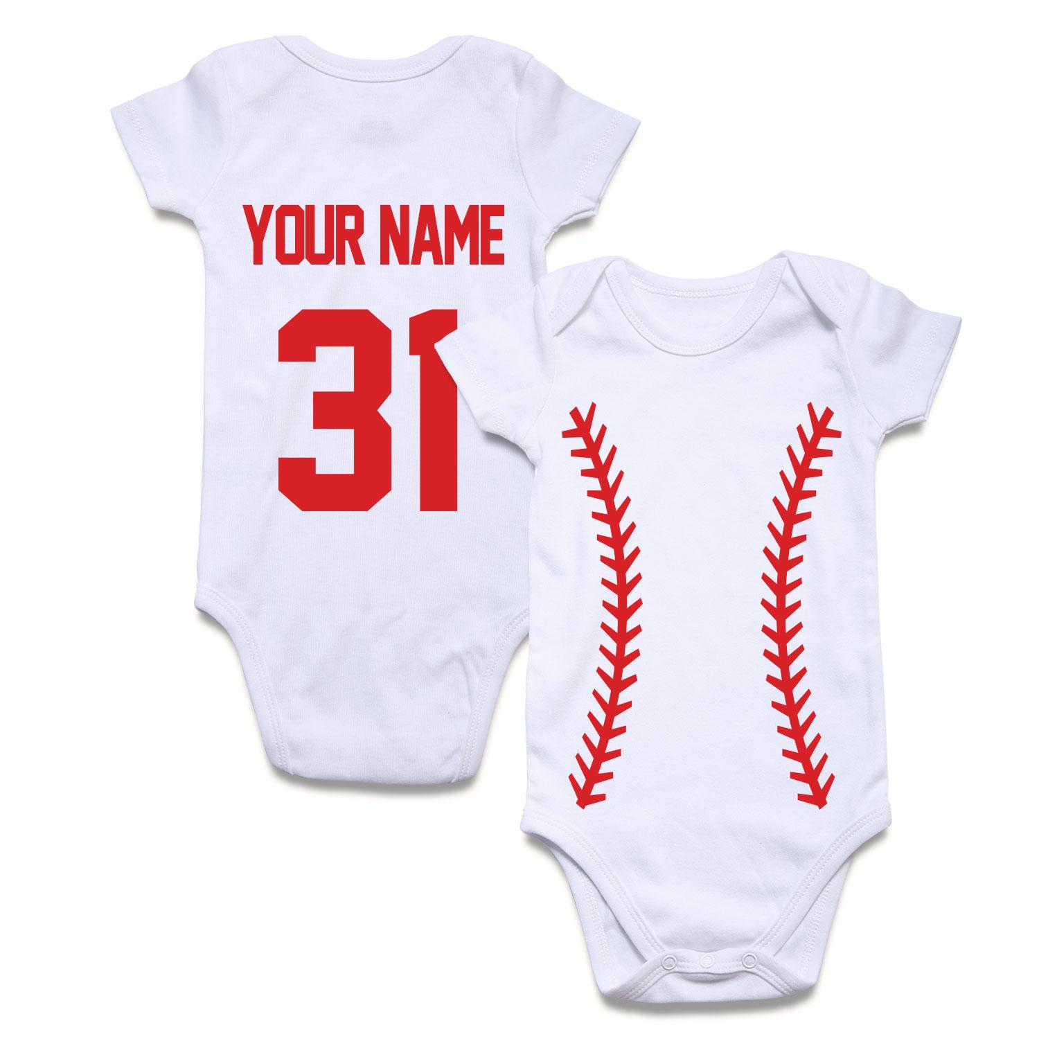 baby/'s first christmas personalized  your name body suit t shirt 3m 6m 9m 12m
