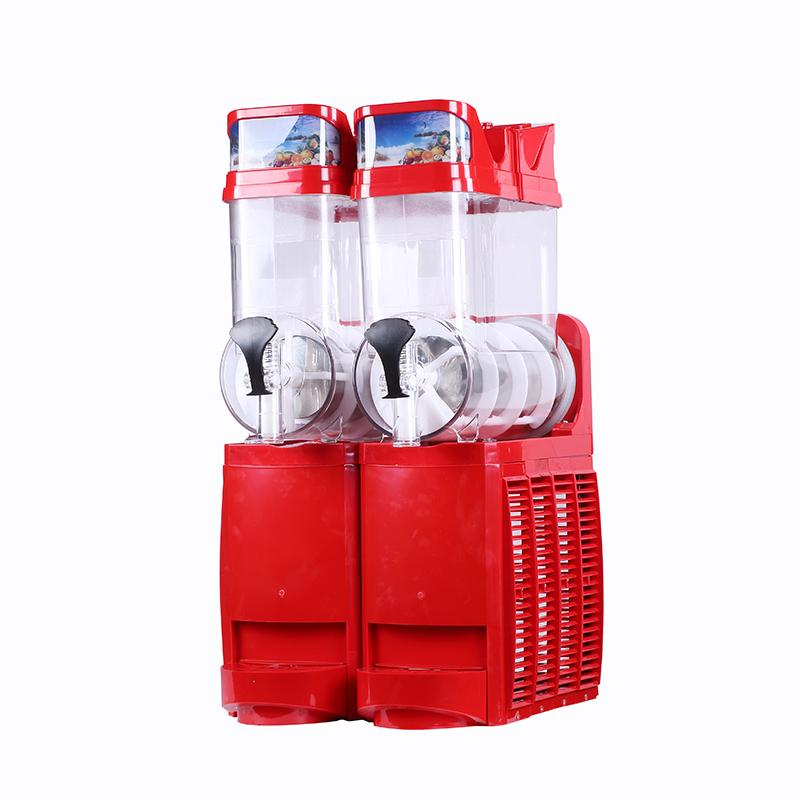 Wholesale automatic 2 * 15L snow melting machine commercial snow mud ice maker electric snowflake mud machine 110V / 220V