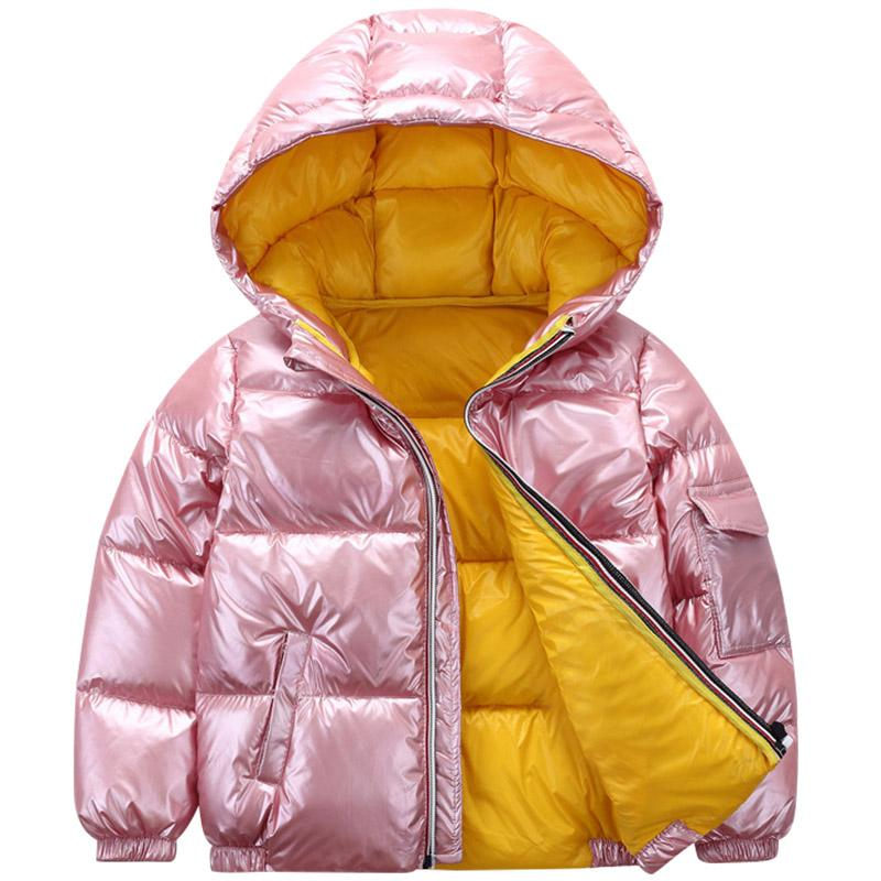 Baby Girl Boy Clothes Kids Winter Jacket For Kids Girls Solid Hoodie Baby Winter Coat Cute Warm Baby Boy Winter Jackets Girls