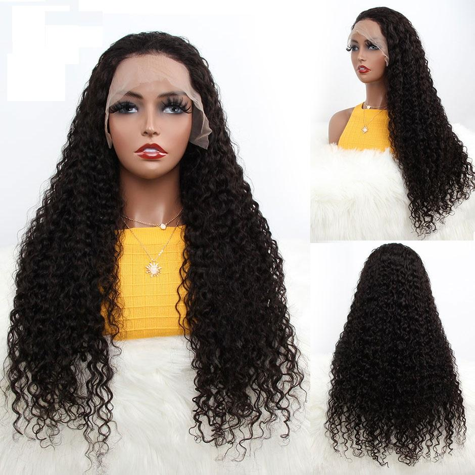 10A Brazilian Water Wave 360 Lace Frontal Wig 150% Density Lace Front Human Hair Wigs For Women CYR'S HAIR Water Wave Lace Wigs