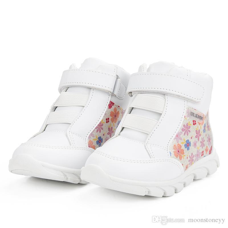 Größe Moonstoneyy Großhandel Mädchen Mädchen Für Kinder Marke Turnschuhe Von Mode 25 Muster 20 Sportschuhe Weiß Soild Einfache Turnschuhe Blumen WYE9IeH2D