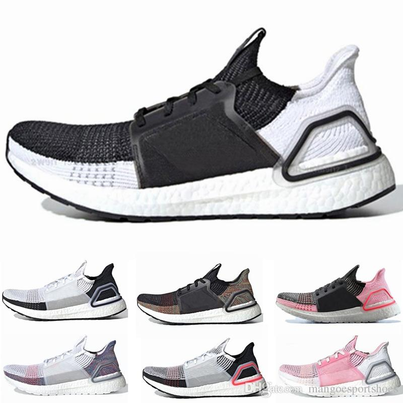 Compre 2019 New Ultra Boost Ultraboost 19 Zapatillas De Running Para Hombre  Mujer Oreo REFRACT True Pink Zapatillas Deportivas Transpirables Para ...