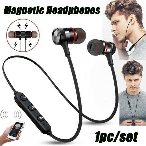 Завод магазин Magnetic In-Ear Наушники Bluetooth стерео наушники Беспроводные гарнитуры Беспроводные наушники Super Sound для всех мобильных телефонов