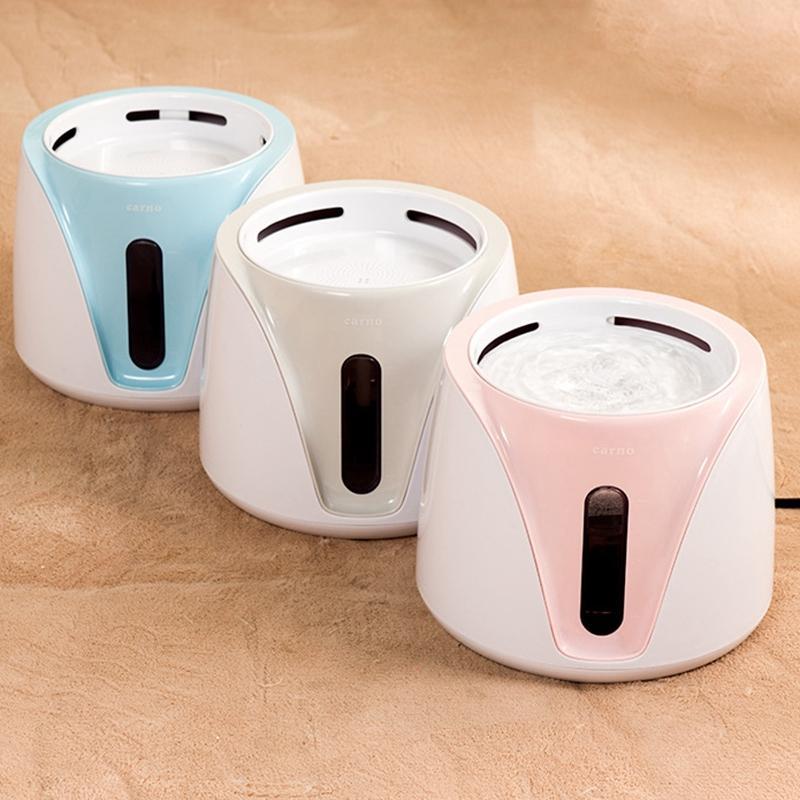 Fonte de água Cat automático para animais dispensador de água Grande Primavera Beber bacia do gato alimentador bebida Filtro 2L EUA plug