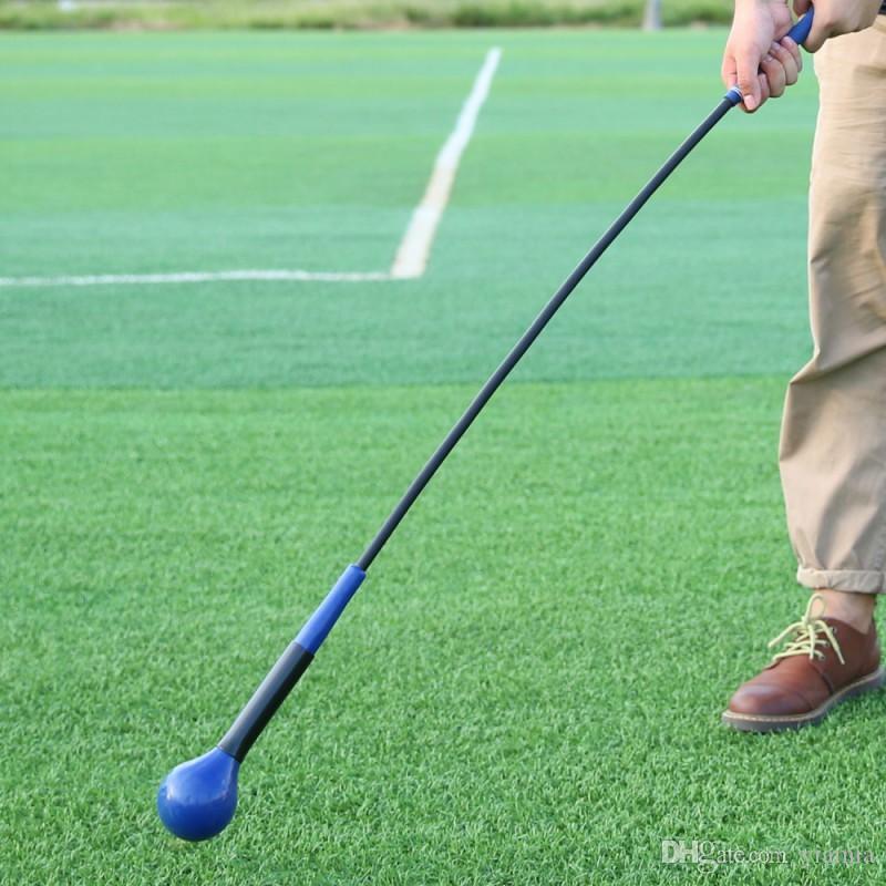 Обучение для гольфа СПИДи для гольфа Swing Trainer Decormation Balance Muscle тренировка высокой плотности EVA Мягкая палка тренировка палка 2 цвета