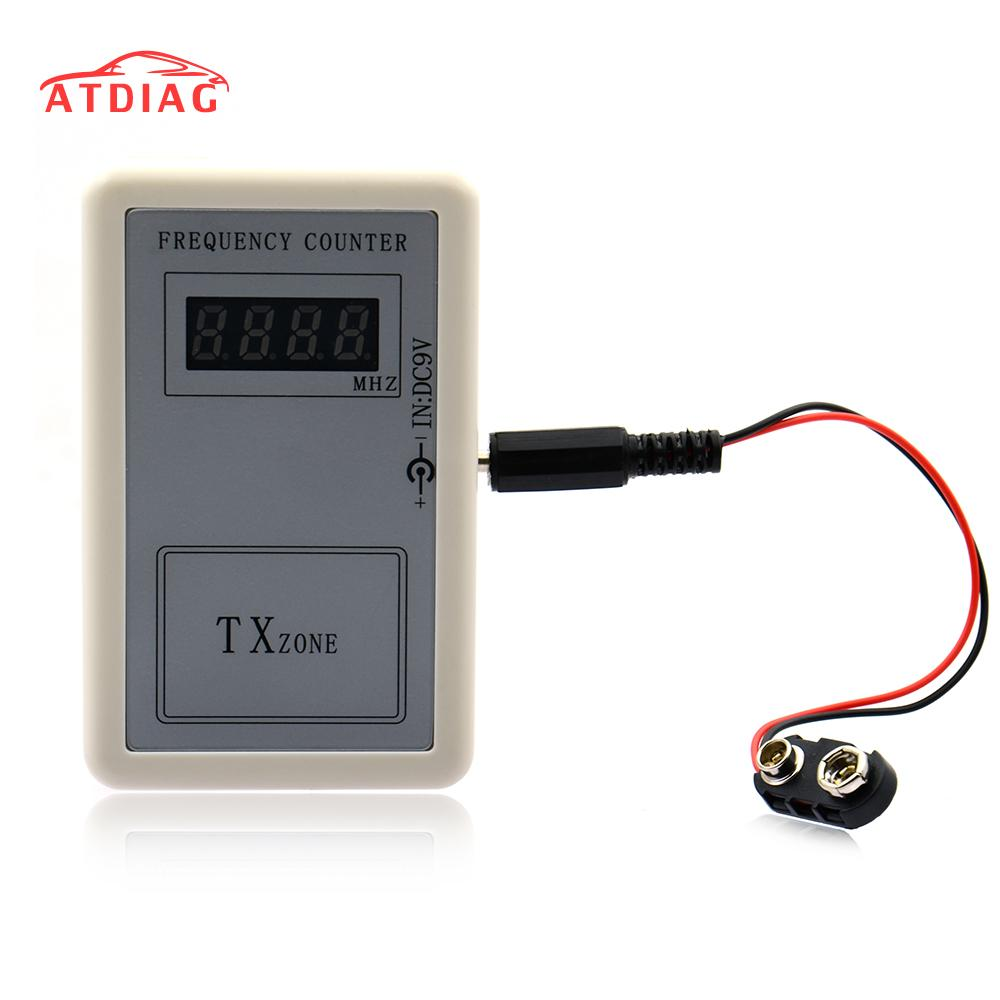Free Shipping Digital Frequency Meter Counter Handheld Wireless Remote Control 250-450 MHZ Tester Tools