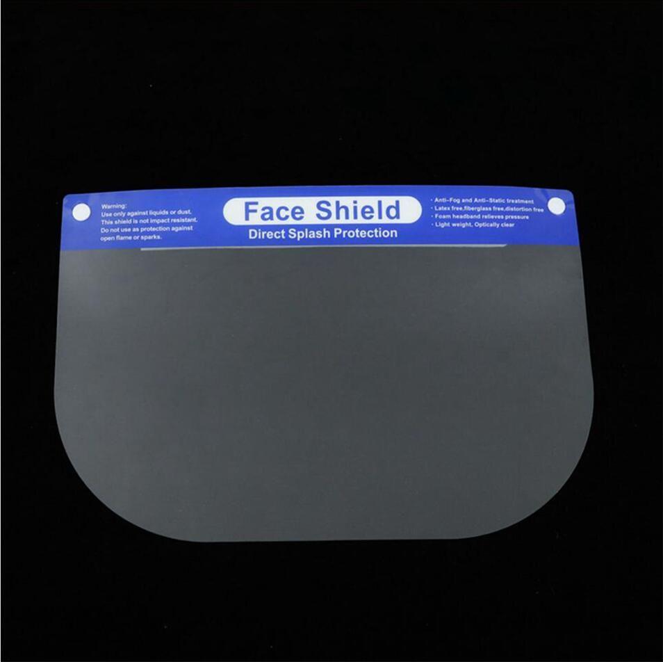 Careta de protección transparente 2 estilos Borrar máscara facial cubierta completa de la mascarilla de 1000pcs marco del polvo anti Escupir Esponja Goggle LJJP67-2