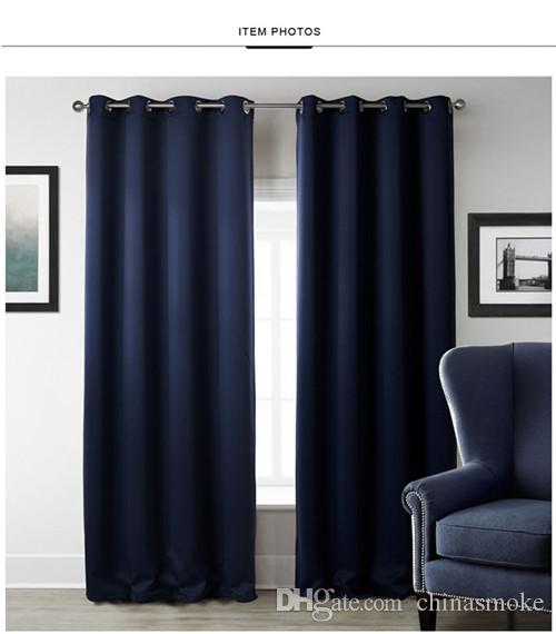 2021 New Modern Blackout Curtains For Window Treatment Blinds Finished Drapes Window Blackout Curtain For Living Room The Bedroom Blinds From Chinasmoke 16 59 Dhgate Com