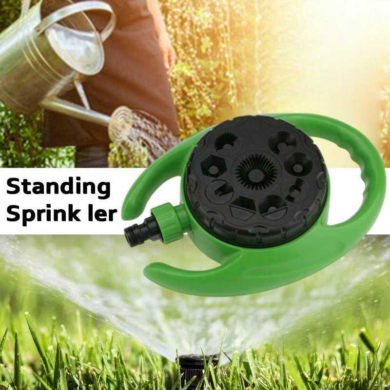1Pc 9-pattern Dial accessori per la casa di spruzzatore spruzzatore Acqua Annaffiare Prato rubinetto tubo da giardino a 360 ° A2N5 Gardena innaffiatura di irrigazione