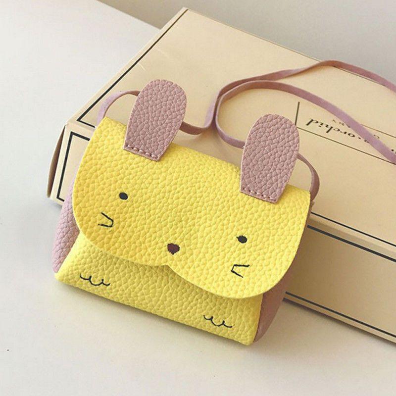 2019 New Lovely Baby Kids Girl Shoulder Toys Plush Bag Cute Animal Storage Crossbody Messenger Bags Girls Cute Wallets Bags