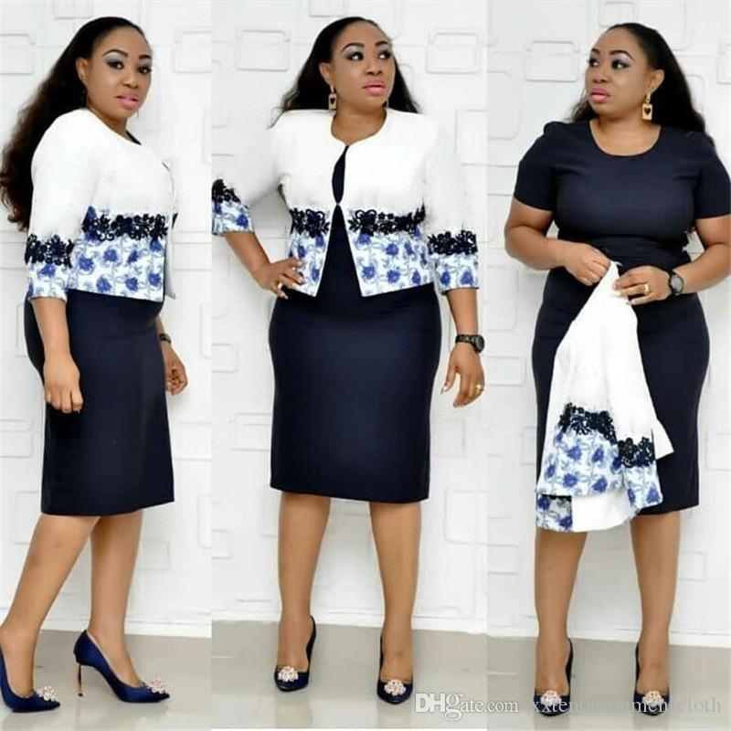 Plus Size Damen Designer Tracksuits Blumenmuster 2 Stück Kleid 3/4 Ärmel Rundhalsausschnitt Anzüge Mode für Frauen Tracksuits