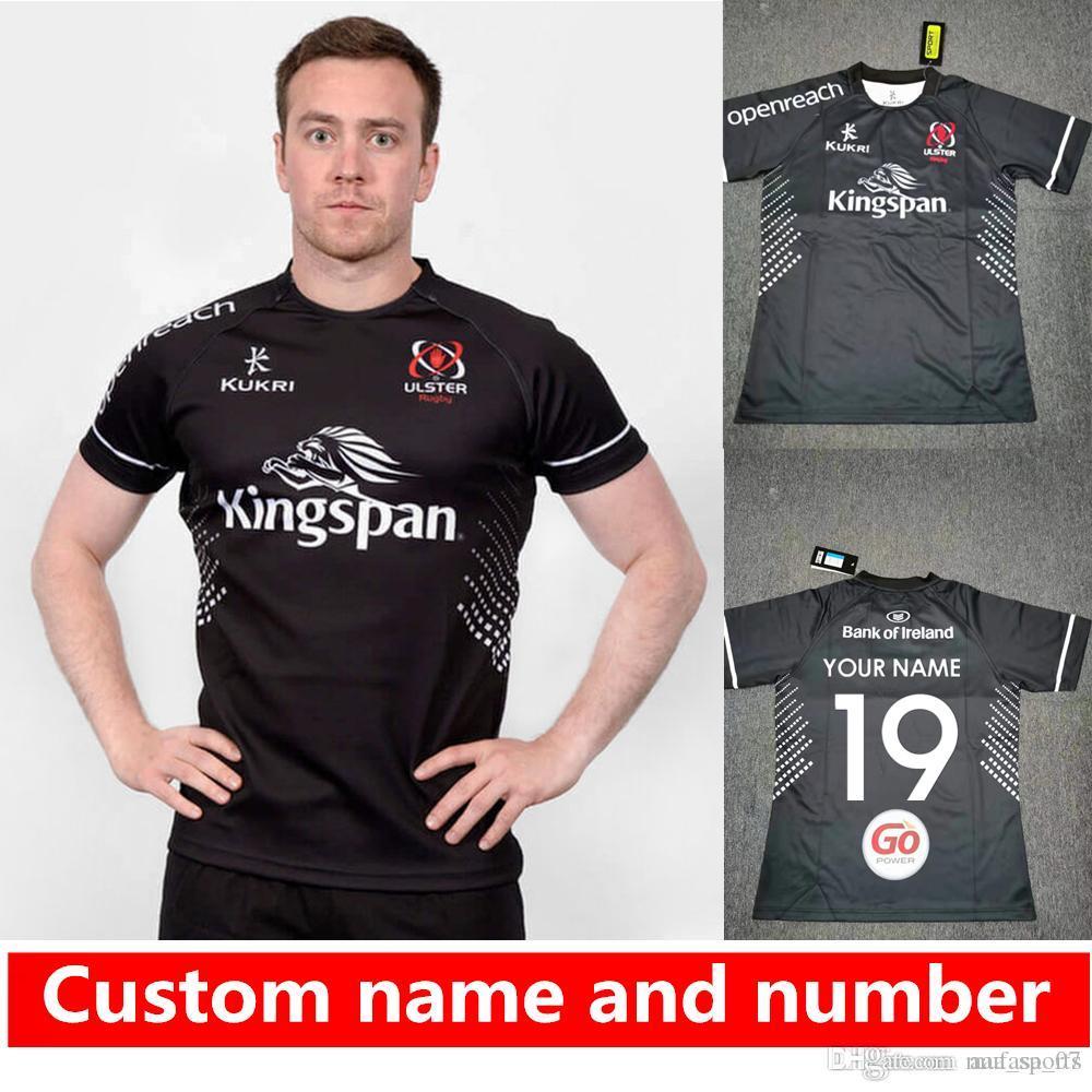 El nombre y el número 2020 de Kukri Ulster Rugby distancia jerseys kukri camiseta del equipo nacional jersey liga Ulster Rugby Jersey S-3XL