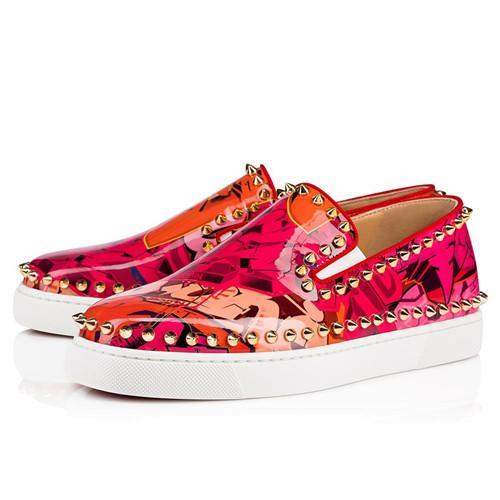 Fashion Luxury Red Bottom Sneakers Low Top Women,Men Shoes Printing Boat Shoes Flat High Quality Walking Shoes,Dress Party Wedding
