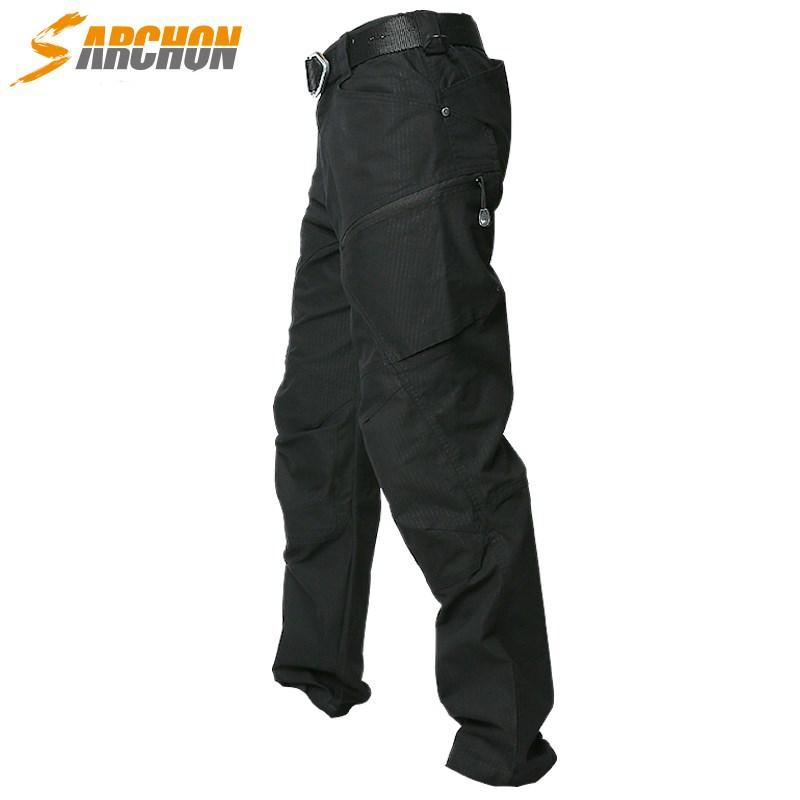 S. Archon Urban Commuting Tactical Pants Outdoor Hiking Mountain Climbing Charge Pants Army Fans Trousers