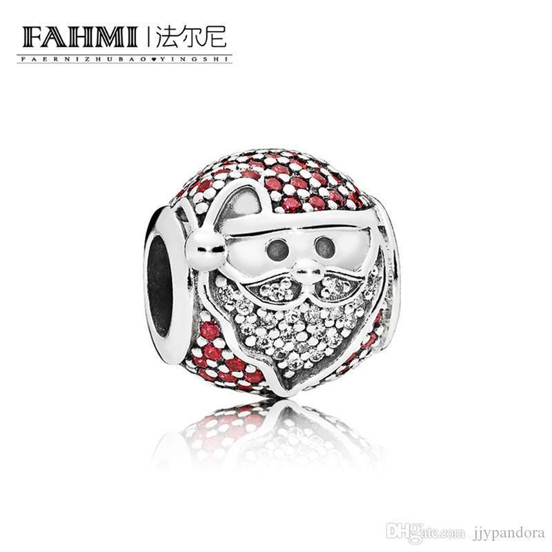 Fahmi 100% 925 Sterlingsilber 1: 1 Original 796385CZR Authentisches Temperament Mode Glamour Retro-Korn-Hochzeit Frauen Schmuck