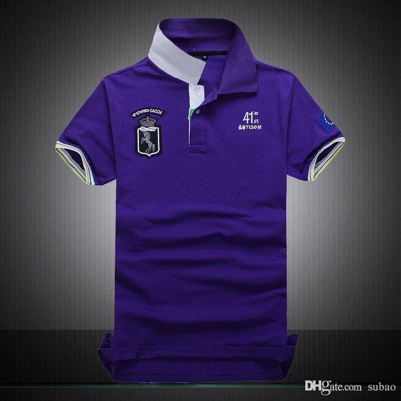 progettista s sport business T-shirt scontato Polo T-shirt 100% cotone clienti camice Fit squadra corta manica Polo Club sexy
