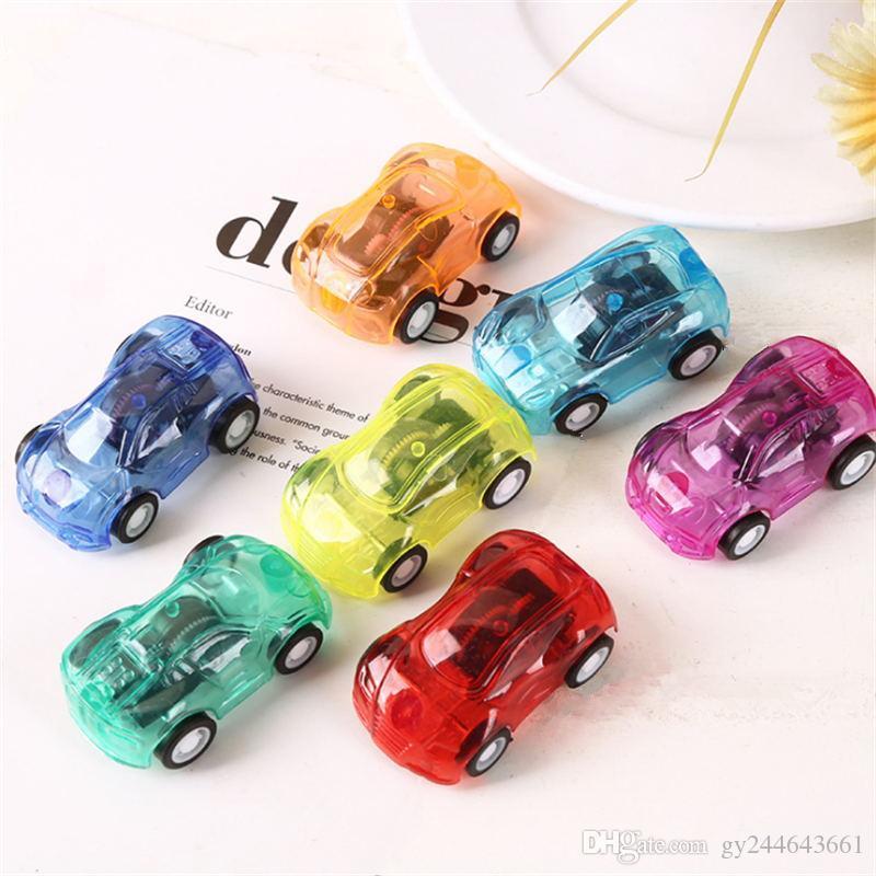 2X Baby Spielzeug Kunststoff Zurückziehen Auto Spielzeug Mini Auto ModellRSDE