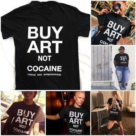 HAHAYULE-JBH Compra Art Not Tumblr Moda Negro Grunge camiseta Hipsters Slogan Tee