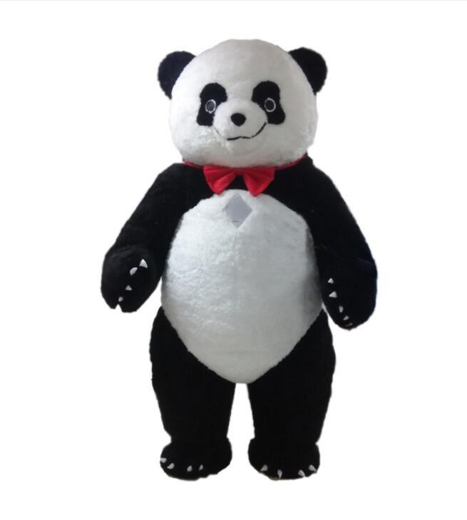 Professional custom great Panda Mascot Costume cartoon fat panda bear Animal Character Clothes Halloween festival Party Fancy Dress