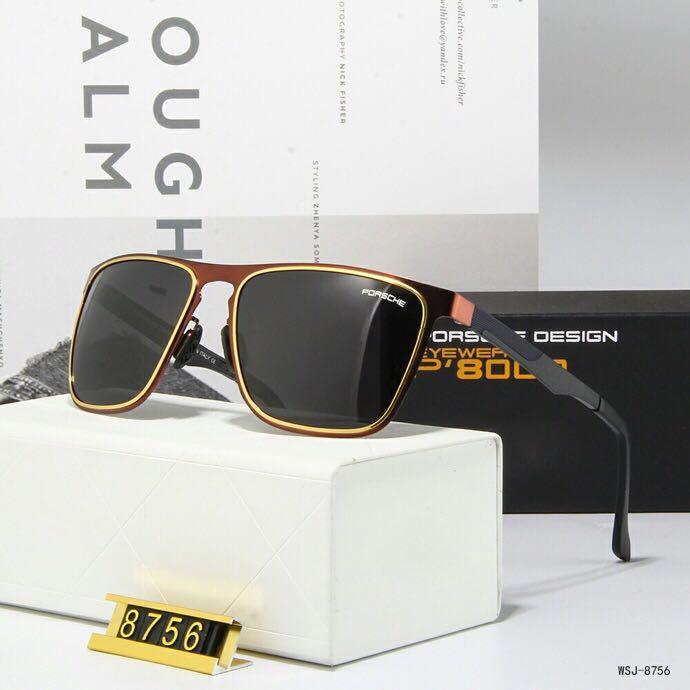 1шт Марка Дизайнер Зеленый объектив солнцезащитные очки Txrppr Классический Pilot ВС очки золотой раме Мужчины Женщины очки UV400 58mm объектив приходят коричневый ящик