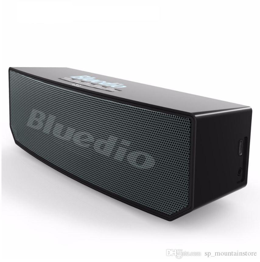 Bluedio BS-6 Мини Bluetooth-динамик Портативный беспроводной динамик для телефонов Iphone Samsung с поддержкой громкоговорителя микрофона