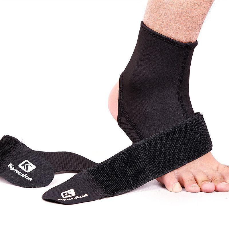 Новый 1шт голеностопного Brace Protector Регулируемые Compression вывихнуть ноги Поддержка Открытый Wrap бинты Защита для бега Фитнес