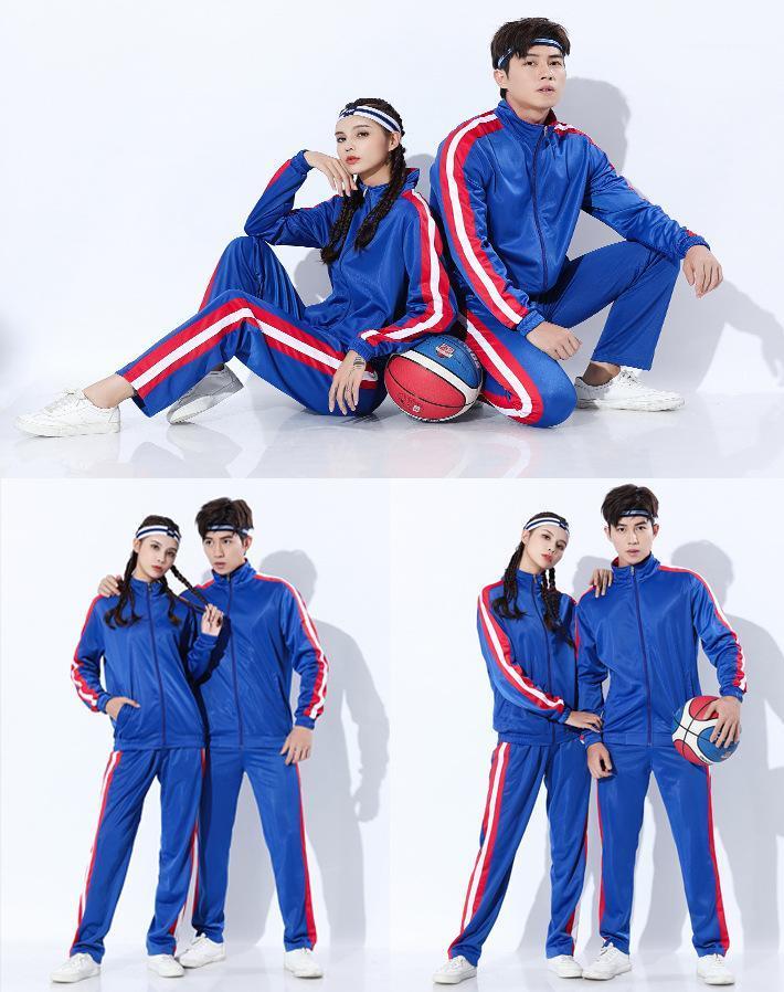 Designer Brasão capuz listrado Cardigan Calças Lápis 2pcs Roupa Define Masculino Casual Desportivo Tracksuits das mulheres dos homens