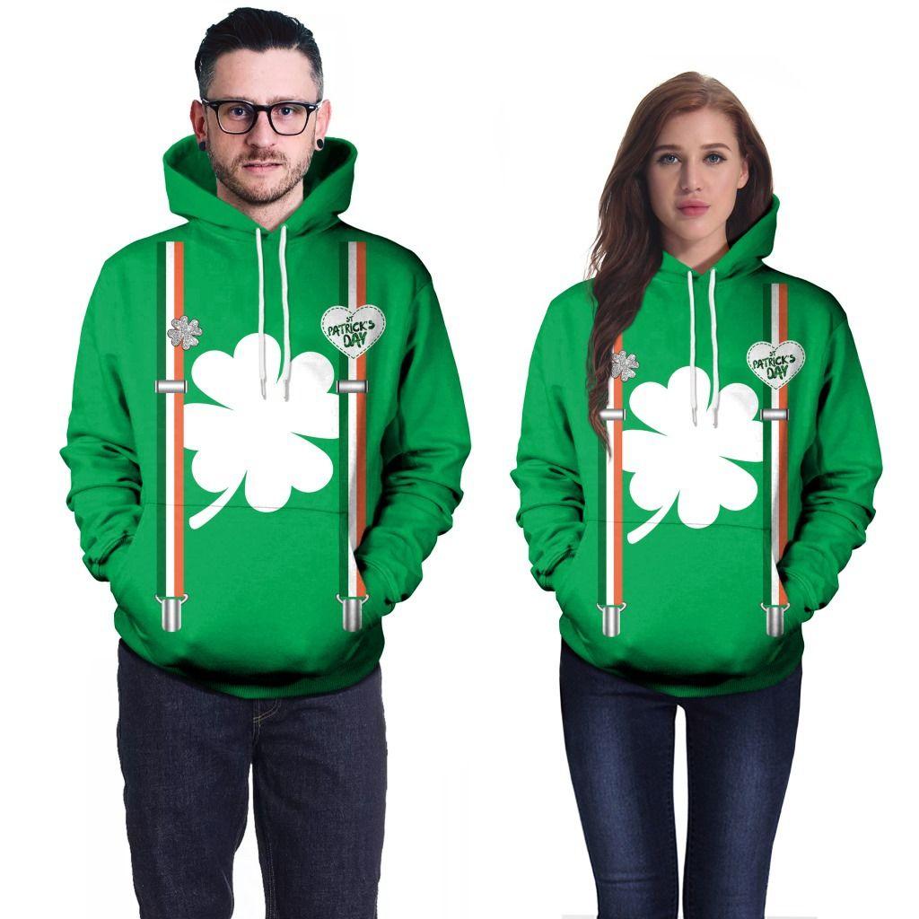 Патрика День Толстовки новый бренд пара свитер пальто свободные тонкие карманы моды для мужчин и женщин B101-048
