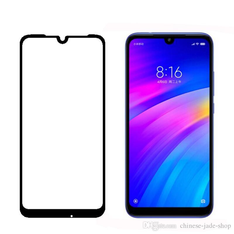 9H Full Cover Thermed Glass Screen Screen Silk Impreso para Xiaomi 11T Poco X3 F3 GT REDMI 10 K40 PRO 200pcs / lot Ningún paquete de venta al por menor