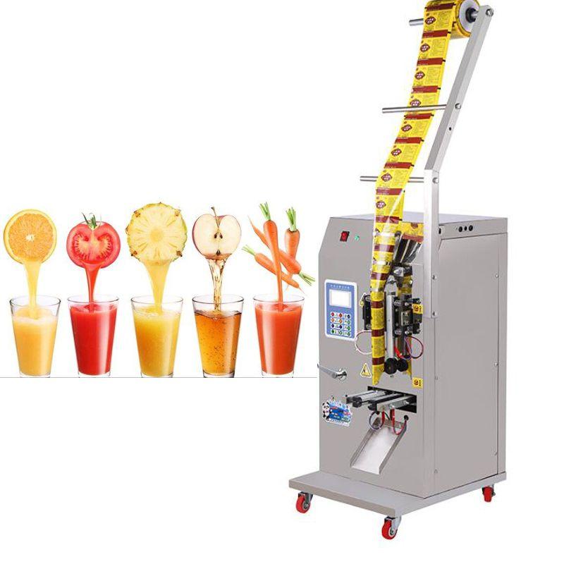 110V 220V Vertikal Flüssigkeitsverpackungsmaschine seasoning Wasser-Öl-Essig Getränkeflüssigkeitsfüllung Verschließmaschine Flüssigkeitsverpackungsmaschine