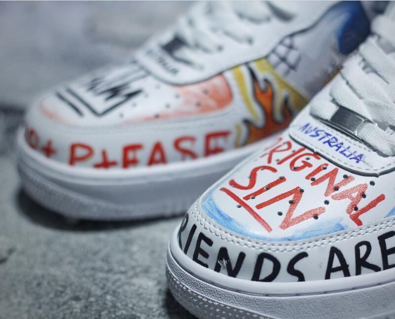 custom graffiti shoes