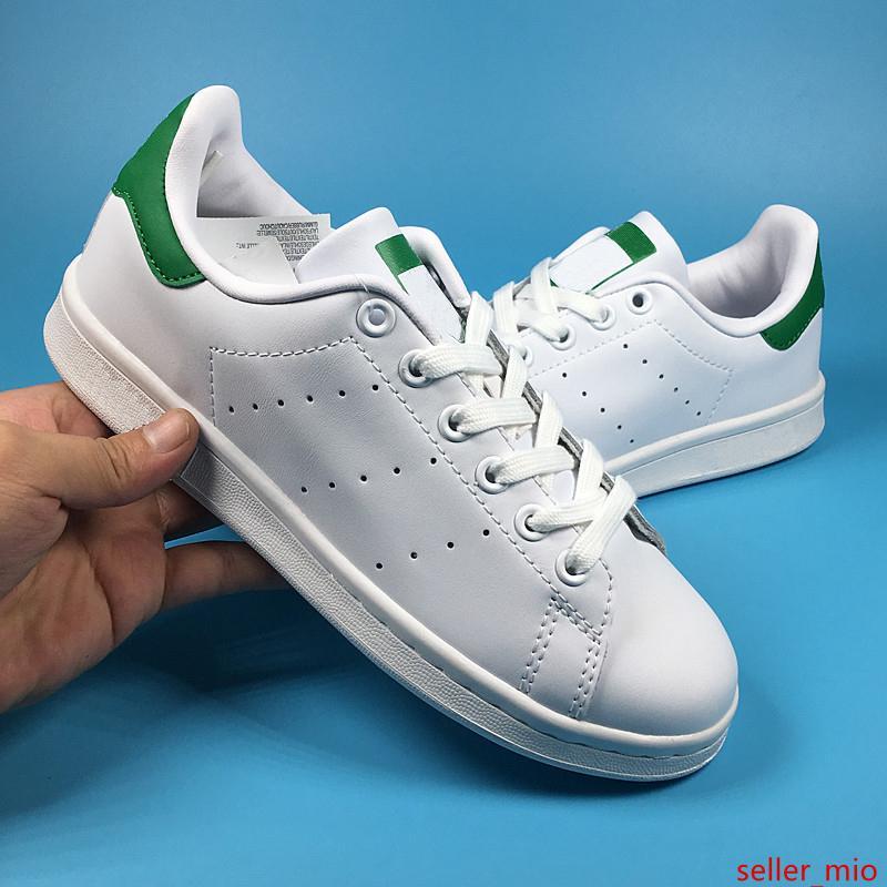 Stan Smith Moda Erkek Kadın Orijinal Sneakers Ayakkabı Altın Damla Kargo Boyut 36-45 Kaykay Ayakkabı