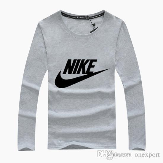 Männer Frauen 100% Baumwolle Langarm T-Shirts Polos Tees Mode-Design Casual Active T-Shirts Shirts Poloshirt Tops BNK