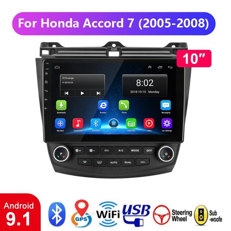 2G + 32G 2Din Android 9.1 Car Radio GPS Navigation Para 7 2003-2007 Car Auto Stereo Sem Leitor de DVD Unidade de cabeça