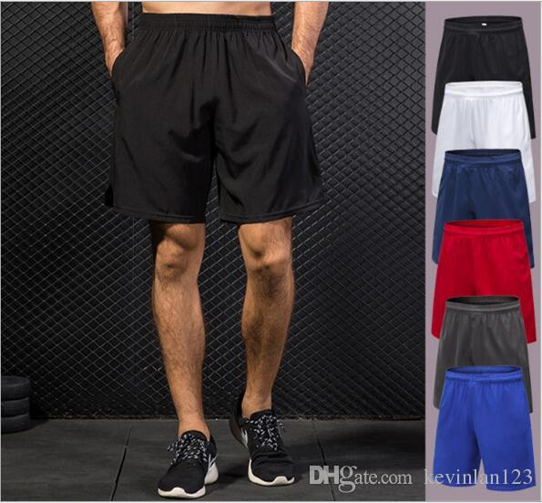 New Style Brand Yoga Pants For Men Sports Shorts Fitness Gym Exercise Workout Sportswear Solid Short knee Breeches Free Shipping 7064