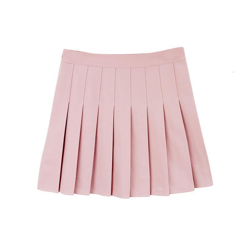 Denim Skirt Women Skirts Sweet Lolita Denim Pleated Skirt Women Cute High Waist Mini A Line Sailor Skirt School Girls Uniforms