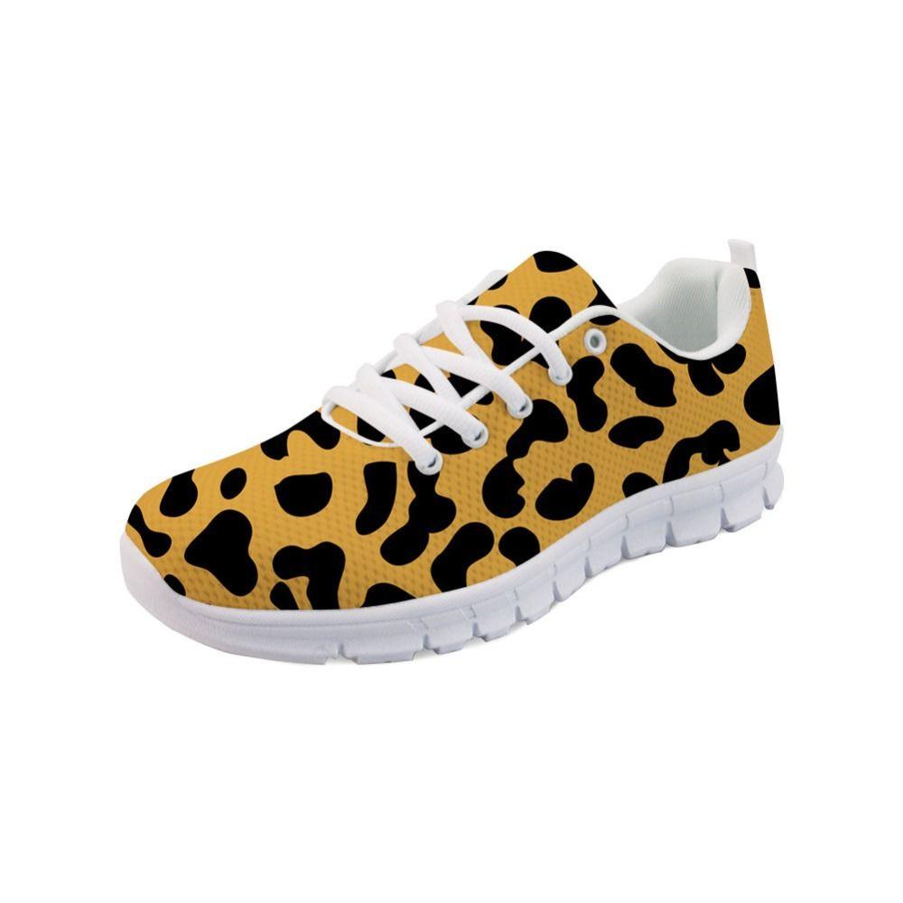 Noisydesigns Spring Flat Shoes Women Prints Shoes Women Casual Barefoot Comfortable Mesh Women's Zapatillas Mujer -AQ